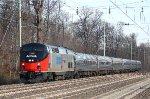 AMTK 156 on Train #43